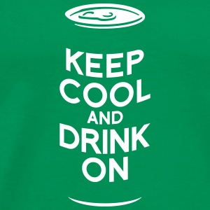 keep cool and drink on T-shirts - Mannen Premium T-shirt
