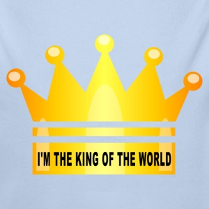 king of the world Sweats - Body bébé bio manches longues