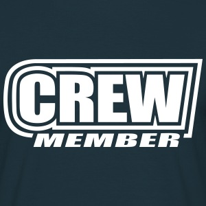 Crew Member sailing sailboat sail boat sailor team T-Shirts - Men's T-Shirt