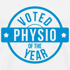 Voted Physio  of the Year T-shirts - Premium-T-shirt herr