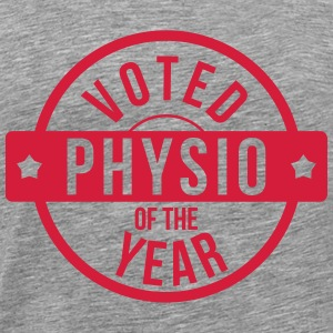 Voted Physio  of the Year T-shirts - Mannen Premium T-shirt