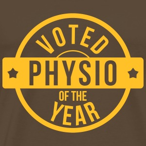 Voted Physio  of the Year Camisetas - Camiseta premium hombre
