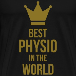 Best Physio in the world Camisetas - Camiseta premium hombre