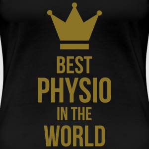 Best Physio in the world T-shirts - Dame premium T-shirt