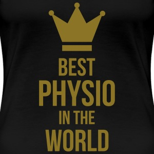 Best Physio in the world Koszulki - Koszulka damska Premium