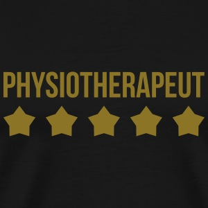 Physiotherapeut T-shirts - Herre premium T-shirt
