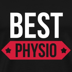 Best Physio T-skjorter - Premium T-skjorte for menn