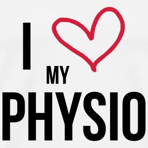I Love my Physio T-shirts - Mannen Premium T-shirt