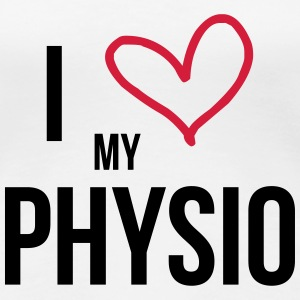 I Love my Physio T-shirts - Vrouwen Premium T-shirt