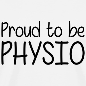 Proud to be Physio T-shirts - Mannen Premium T-shirt