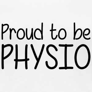 Proud to be Physio T-shirts - Premium-T-shirt dam