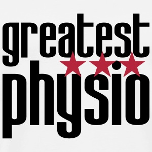 Greatest Physio T-shirts - Mannen Premium T-shirt
