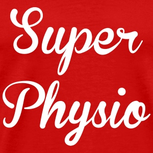 Super Physio T-skjorter - Premium T-skjorte for menn