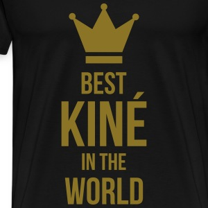 Best Kiné in the world T-skjorter - Premium T-skjorte for menn