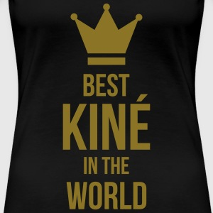 Best Kiné in the world T-shirts - Dame premium T-shirt