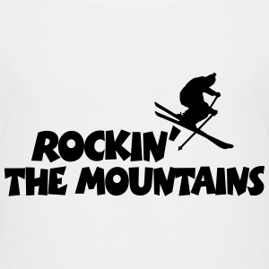 Rockin' The Mountains Après-Ski Design (SE) T-shirts - Premium-T-shirt barn
