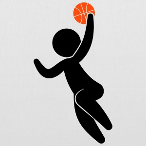 A basketball player jumping with the ball Bags & Backpacks - Tote Bag