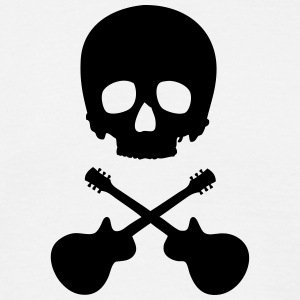 Scull with guitars T-Shirts - Men's T-Shirt