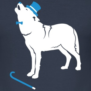 sir wolf T-Shirts - Men's Slim Fit T-Shirt