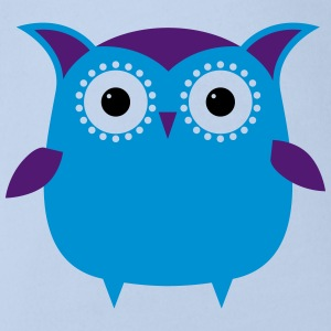 Happy Owls - Baby Bio-Kurzarm-Body