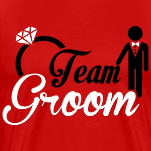 Team Groom T-Shirts - Men's Premium T-Shirt