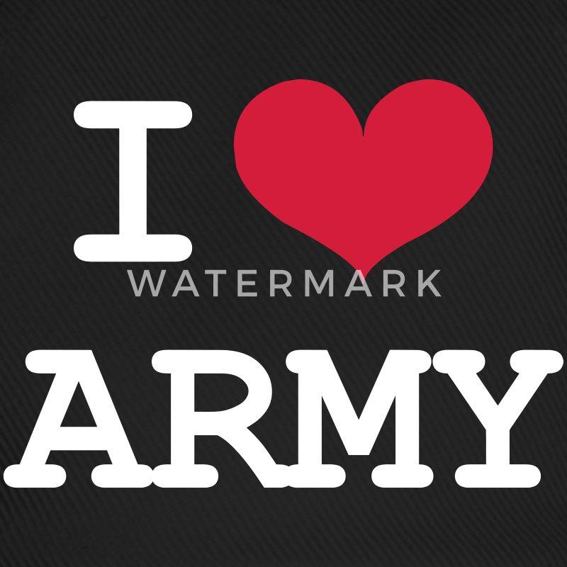 I Love Army Cap