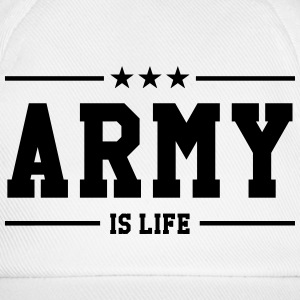 Army is life ! Kasketter & Huer - Baseballkasket