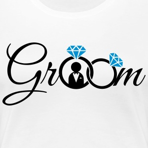 Groom T-Shirts - Women's Premium T-Shirt