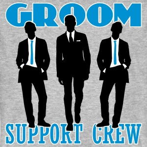 Groom Support Crew T-Shirts - Men's Organic T-shirt