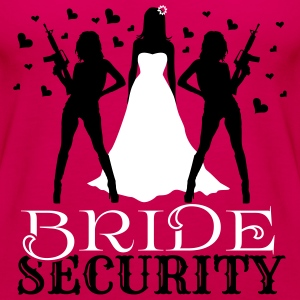Bride Security Tops - Women's Premium Tank Top