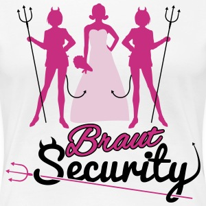 Braut Security - JGA T-Shirts - Frauen Premium T-Shirt