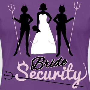 Bride Security T-shirts - Premium-T-shirt dam