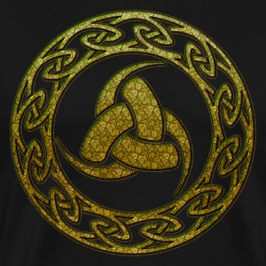 Triple Horn of Odin, Celtic Knot, Odin Symbol T-Sh - Men's Premium T-Shirt