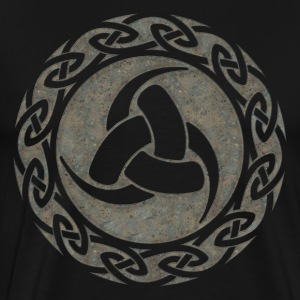 Triple Horn of Odin, Celtic Knot, Odin Symbol T-Shirts - Men's Premium T-Shirt