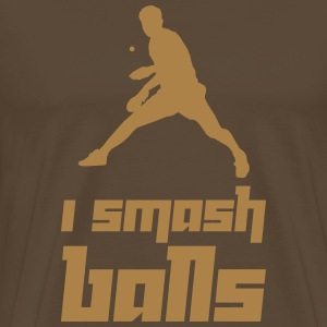 I smash balls (Vector) - Men's Premium T-Shirt