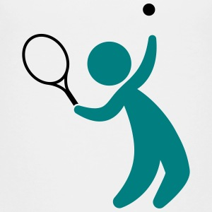 A tennis player hits the ball Shirts - Teenage Premium T-Shirt