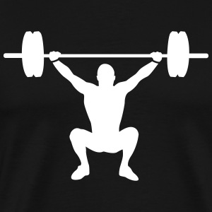 weight lifting T-Shirts - Men's Premium T-Shirt