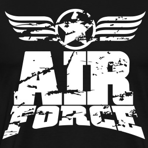 air force T-shirts - Mannen Premium T-shirt
