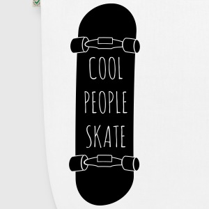 Cool People skate Bags & Backpacks - EarthPositive Tote Bag