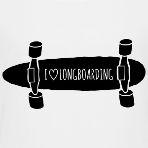 I love Longboarding T-Shirts - Teenager Premium T-Shirt