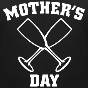 Mother's Day T-shirts - T-shirt med v-ringning dam