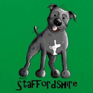 Staffordshire Bull terrier Bags & Backpacks - Tote Bag