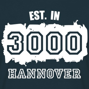 Established 3000 Hannover T-Shirts - Männer T-Shirt
