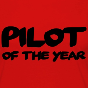 Pilot of the year Long Sleeve Shirts - Women's Premium Longsleeve Shirt