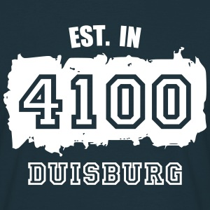 Established 4100 Duisburg T-Shirts - Männer T-Shirt