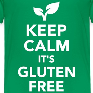 Keep calm it's gluten free T-Shirts - Kinder Premium T-Shirt
