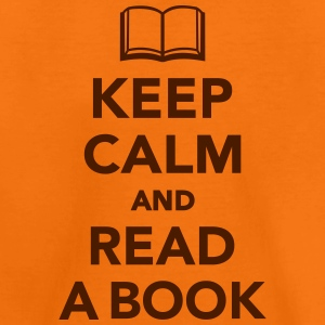 Keep calm and read a book T-Shirts - Kinder Premium T-Shirt