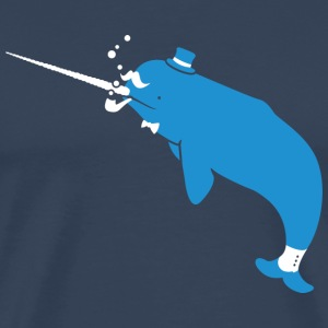 Sir Narwhal T-Shirts - Men's Premium T-Shirt