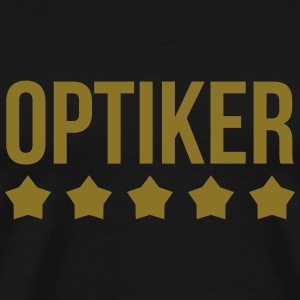 Optiker T-skjorter - Premium T-skjorte for menn