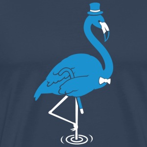 Sir Flamingo T-Shirts - Men's Premium T-Shirt